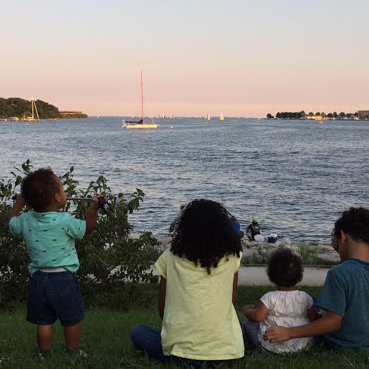 kids & boats